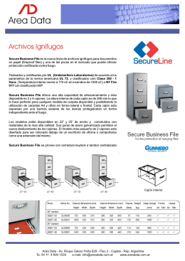 Folleto Archivos Secure Business File