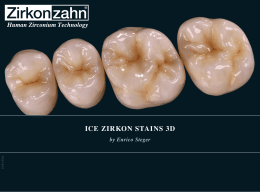 ice zirkon stains 3d by enrico steger