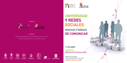 Y REDES SOCIALES. - WEBLOG NEWS AT IE UNIVERSITY