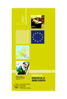 experto en derecho de la unión europea