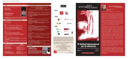 Programa - Ayuntamiento de Murcia