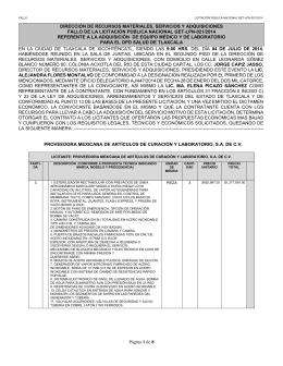 Fallo LPN 21-2014