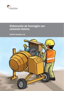 Cómo elaborar hormigón