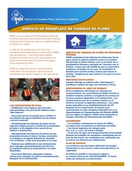 Servicio de reemplazo de tuberías de plomo (PDF 781 kb)