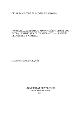 Adaptación de extranjerismos en el Diccionario panhispánico