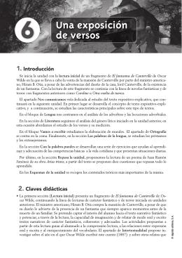 Propuesta Didáctica Unidad 6. Lengua castellana y