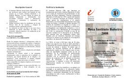 Beca Instituto Balseiro 2008