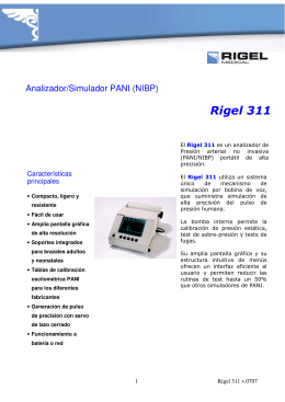 Rigel 311-folleto v.0707