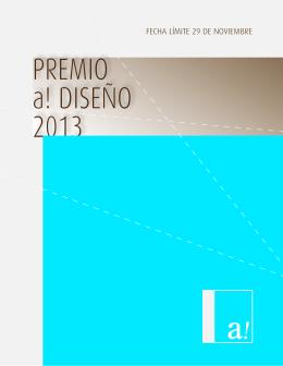 PREMIO a! DISEÑO 2013