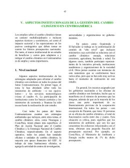 Informe de factibilidad. Economía del cambio climático en
