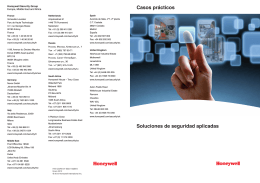 Mise en page 1 - Honeywell Security