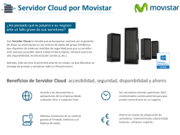 Folleto Servidor Cloud