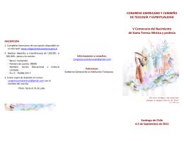 CONGRESO AMERICANO Y CARIBEÑO DE TEOLOGÍA Y
