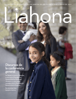 Liahona Mayo 2015 - The Church of Jesus Christ of Latter