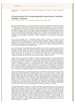 Documentos. Araucaria, nro. 13. Antonio Gutiérrez Escudero