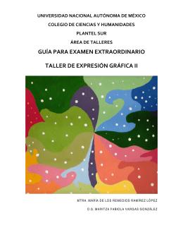 Taller de Expresión Gráfica II.