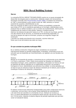 folleto RBS - RSG Instalaciones y Distribución