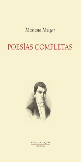 Poesías completas - Mariano Melgar