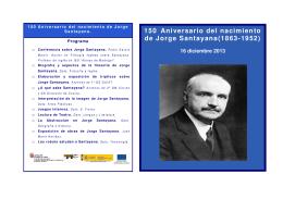 Modelo folleto Jorge Santayana con logotipo