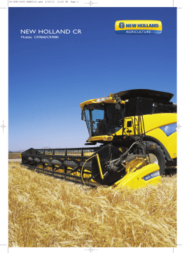 NEW HOLLAND CR - Grupo Agroempresa Argentina