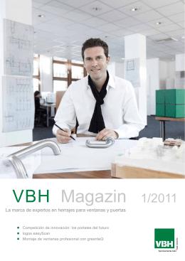 VBH Magazin 1/2011