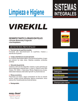 FOLLETO VIREKILL.cdr - Easy Clean Internacional