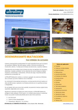 desengrasante multiacción folleto