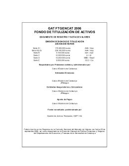 Folleto informativo - Gestión de Activos Titulizados SGFT, SA