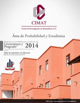 CENTRO DE INVESTIGACION EN MATEMATICAS A