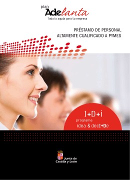 Folleto Informativo - portal de datos abiertos de la Junta de Castilla y