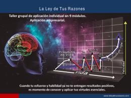 Presentación de PowerPoint - LA LEY DE TUS RAZONES index
