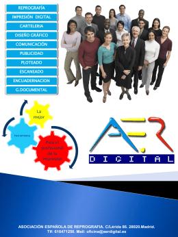 Diapositiva 1 - Asociación Española de Reprografía