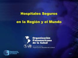 Hospitales y Seguros - DISASTER info DESASTRES