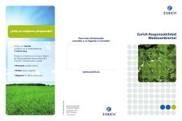 Seguro medioambiental medioambi - Valle Pedroches agencia de