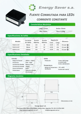 Folleto Fuentes LEDs.cdr