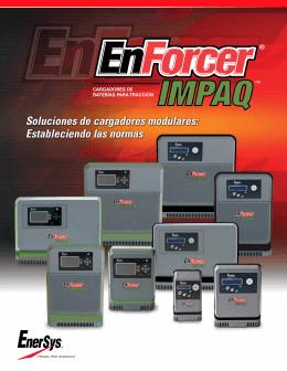 Folleto técnico de cargadores de baterías Impaq