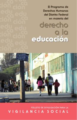 derecho a la educación derecho a la educación