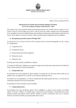 + info - Ciudad Autónoma de Buenos Aires