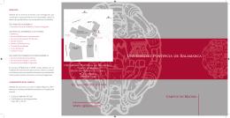 Informacion General-04.indd - Universidad Pontificia de Salamanca
