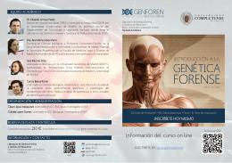 Programa del curso - Universidad Complutense de Madrid