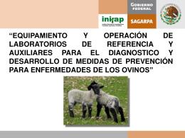 Equipamiento y Operación de Laboratorios de Referencia para el