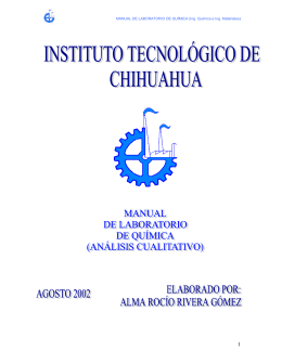 MANUAL DE LABORATORIO DE QUÍMICA (Ing