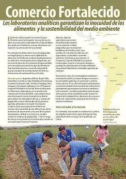 alimentos y la sostenibilidad del medio ambiente Los laboratorios