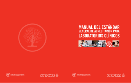 Manual del Estándar General de acreditación para Laboratorios