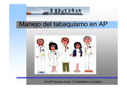 Manejo del tabaquismo en AP pdf