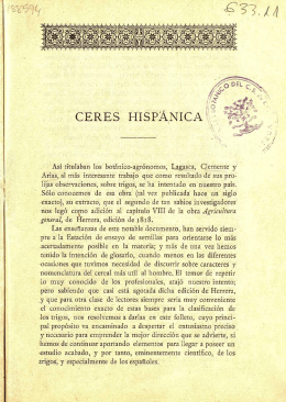 3 - Ceres hispánica