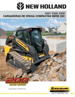 baja el folleto - New Holland Construction