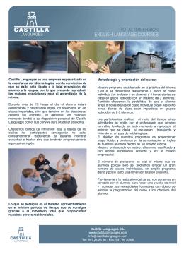 Metodología y orientación del curso: