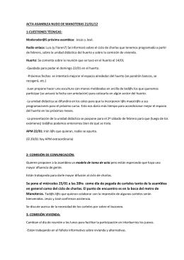 Acta 21-01 - Asamblea Popular del Nudo de Manoteras