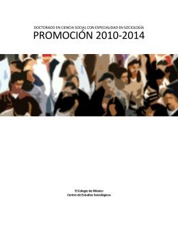 PROMOCIÓN 2010-2014